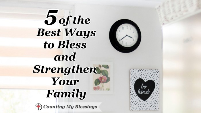 Family - it's where we let our hair down and fail to be on our best behavior. We need help. This will help you live, love, and strengthen your family. #Family #Love #Blessed