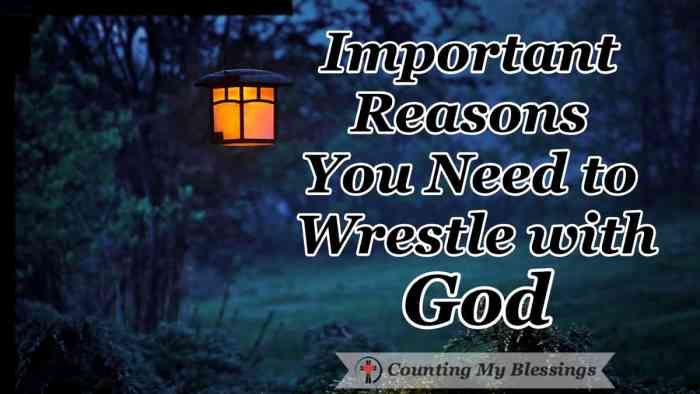 "I've learned that when I wrestle with God in prayer I'm left with a ""limp"" but more importantly, I leave blessed. I'd love to tell you about it... #Prayer #wrestlewithGod #BibleStudy #Faith #SeekGodFirst"