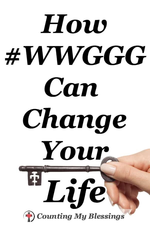 There's a simple question you and I can ask ourselves that will not only change our lives but one that can change the lives of people everywhere. #WWGGG #WWJD #Question #ChangetheWorld