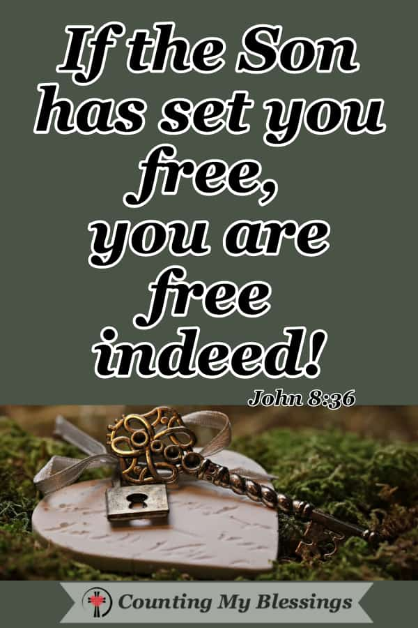 Anything other than God's best for us found in Jesus causes us to sacrifice some of our freedom in Christ. What's getting in the way of your freedom? #FreedominChrist #Faith #WWGGG #CountingMyBlessings #BibleStudy