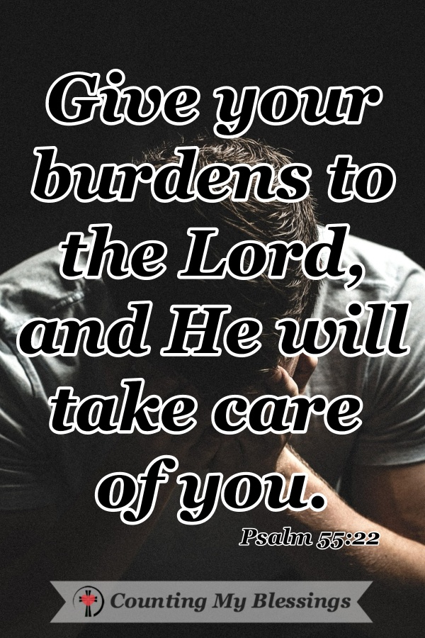 """It's hard to find the words to pray when you are grieving. We tend to cry """"why"""" through exhausted tears and pain. But God gave His promises to pray. #Grief #VersestoPray #PromisesofGod #CountingMyBlessings #WWGGG #BlessingBloggers"""
