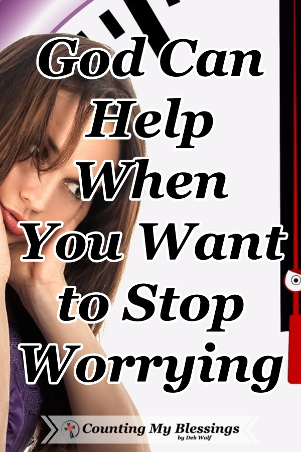 I used to have a terrible problem with worry and fear and that's why I'd love to tell you how God gave me what I needed to stop worrying. #StopWorrying #Faith #Hope #Prayer #MentalHealth #CountingMyBlessings #WWGGG