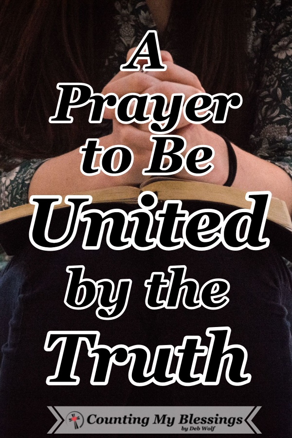 Imagine the difference followers of Jesus could make if they were all united in their beliefs and lived like they believed the Bible is God's Word of Truth. #BibleStudy #Truth #God'sWord #Faith #Prayer #CountingMyBlessings #WWGGG