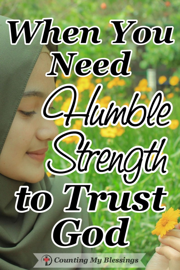 Mary was asked to accept the greatest act of obedience and she trusted God with humble strength to give her everything she needed to serve and obey Him. #BibleStudy #Faith #TrustGod #CountingMyBlessings #BlessingBloggers #WWGGG