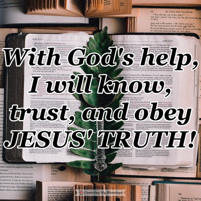 God whispers and the world is loud. If you and I want to enjoy the freedom of God's love we need to know, trust, and obey Jesus' truth. #BibleStudy #Faith #Hope #CountingMyBlessings #Blessings #WWGGG