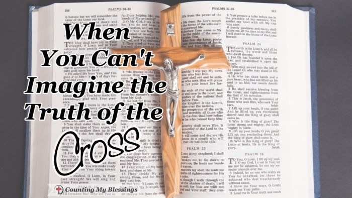 It's hard to Imagine what Jesus suffered to save mankind. The truth of the cross is that He suffered being abandoned by God so you and I will never have to. #GoodFriday #Easter #thecross #Jesus #CountingMyBlessings #BlessingBloggers