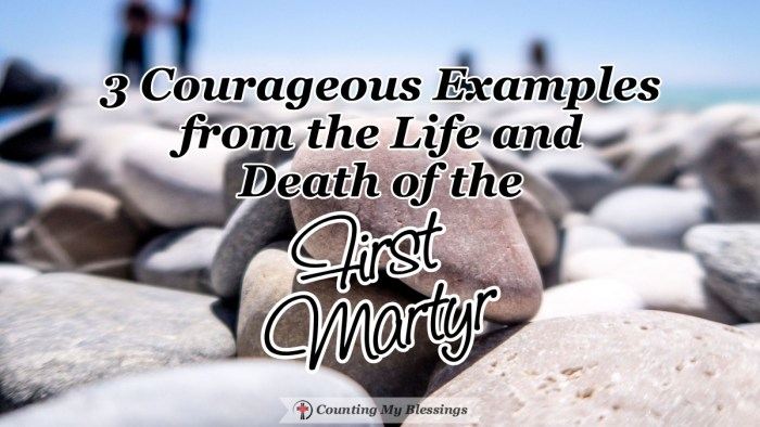 Stephen, the first martyr maintained bold faith in Jesus even as he faced death. His example shows us the importance of living life with courageous faith. #CourageousFaith #BibleStudy #Prayer #CountingMyBlessings #WWGGG