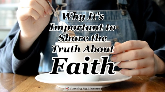 What if we make sharing our faith too complicated? What if the truth about faith is as simple as showing people that we've been with Jesus? #Faith #BibleStudy #CountingMyBlessings