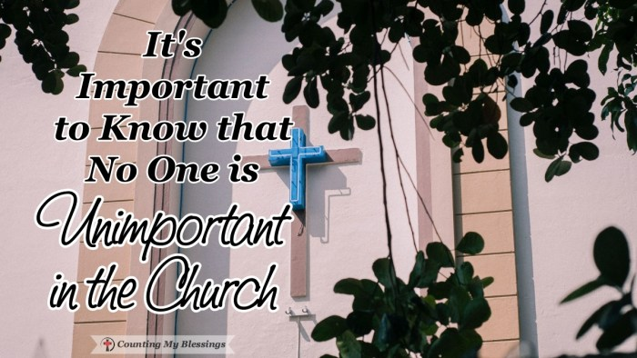 I wonder what a difference we could make as people of the church if we communicated that everyone is valued, loved, and very important to God's family. #Faith #God'sLove #Family #CountingMyBlessings #WWGGG