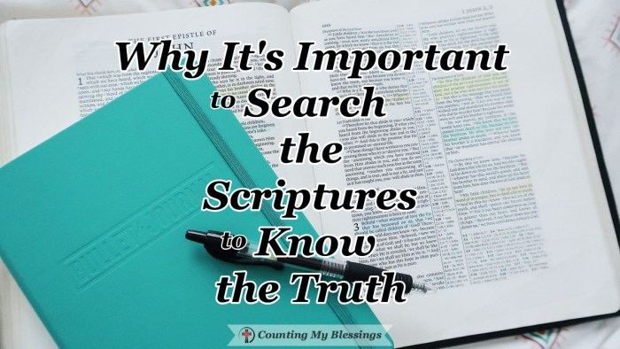 There is only one way to know if a Bible teacher's instruction is the truth and that is to always search the Scriptures to know if it agrees with God's Word. #BibleStudy #God'sWord #Faith #CountingMyBlessings