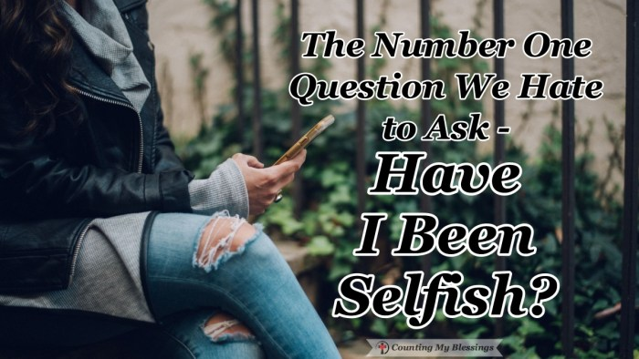 People, by nature, love to point out the sin in others but the truth is sin, in general, can be summed up in one hard question - Have I been selfish? #ObeyGod #TrustGod #Faith #CountingMyBlessings