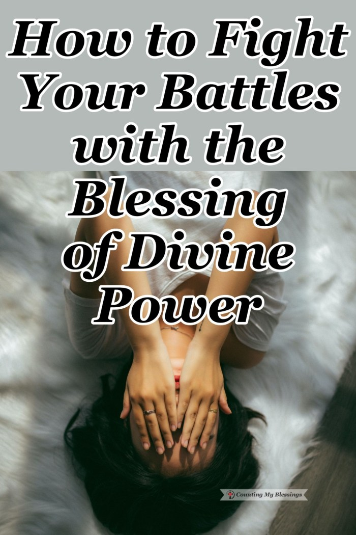 Did you know that God wants to bless you with His divine power to have the strength you need to fight whatever battle He allows? We can trust Him. #Faith #Promises #Hope #Blessings