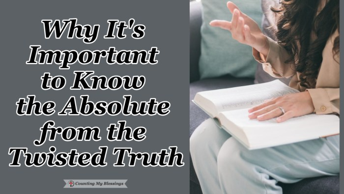 The twisted truth can be harder to identify and more damaging than an outright lie. If we want to know the truth that lasts we need to trust Jesus. #BibleStudy #GodsWord #Blessings #Truth