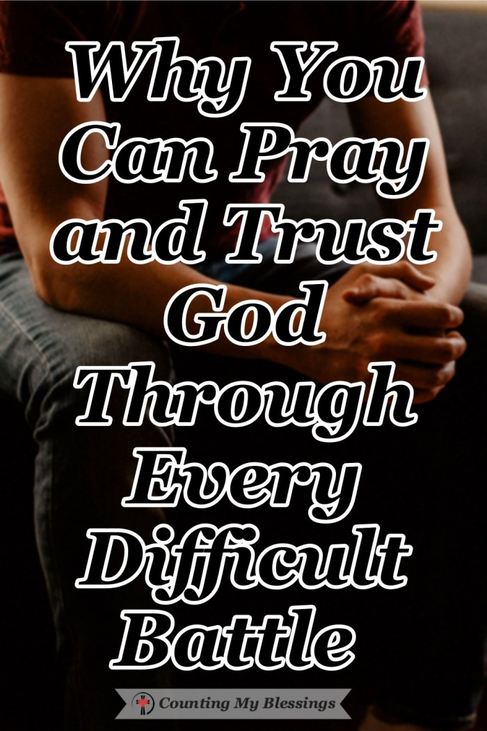 There are battles in the spiritual realm that bleed over into the natural realm but God tells us to pray and trust as His best line of defense for our souls. #SpiritualWarfare #Faith #BibleStudy #Blessings