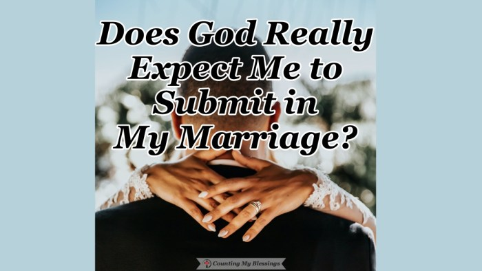 Just mention the idea that we should submit in marriage and you will prompt strong emotional responses. But maybe there's a reason God wants it for us. #Marriage #Submission #LoveandRespect #Blessings