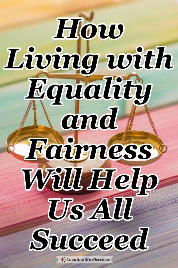 The Bible tells us to obey God's commands without favoritism. The only way we can do that is with wisdom and an attitude of equality and fairness.  #Equality #Justice #Fairness #Blessings