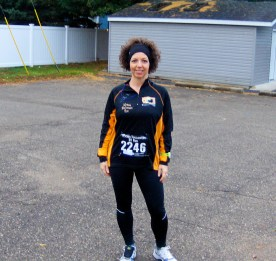 Me before the Wicked Halloween Run 2013