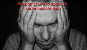 How do we Communicate Pain?