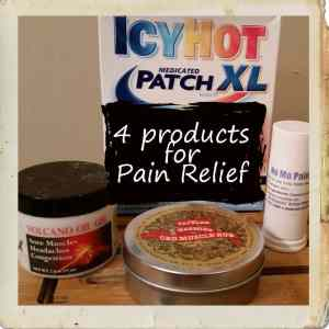 4 Products for Pain Relief