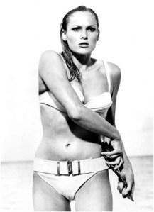 Honey, a Bond Girl. She definitely used the pilates circle!