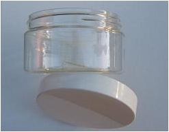 empty eye cream jars