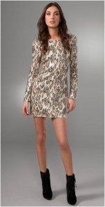Sheri Bodell's Animal Print Dress