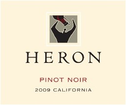 Heron Pinot Noir 2009 California