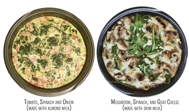 two quiches by Spring and Chelsea