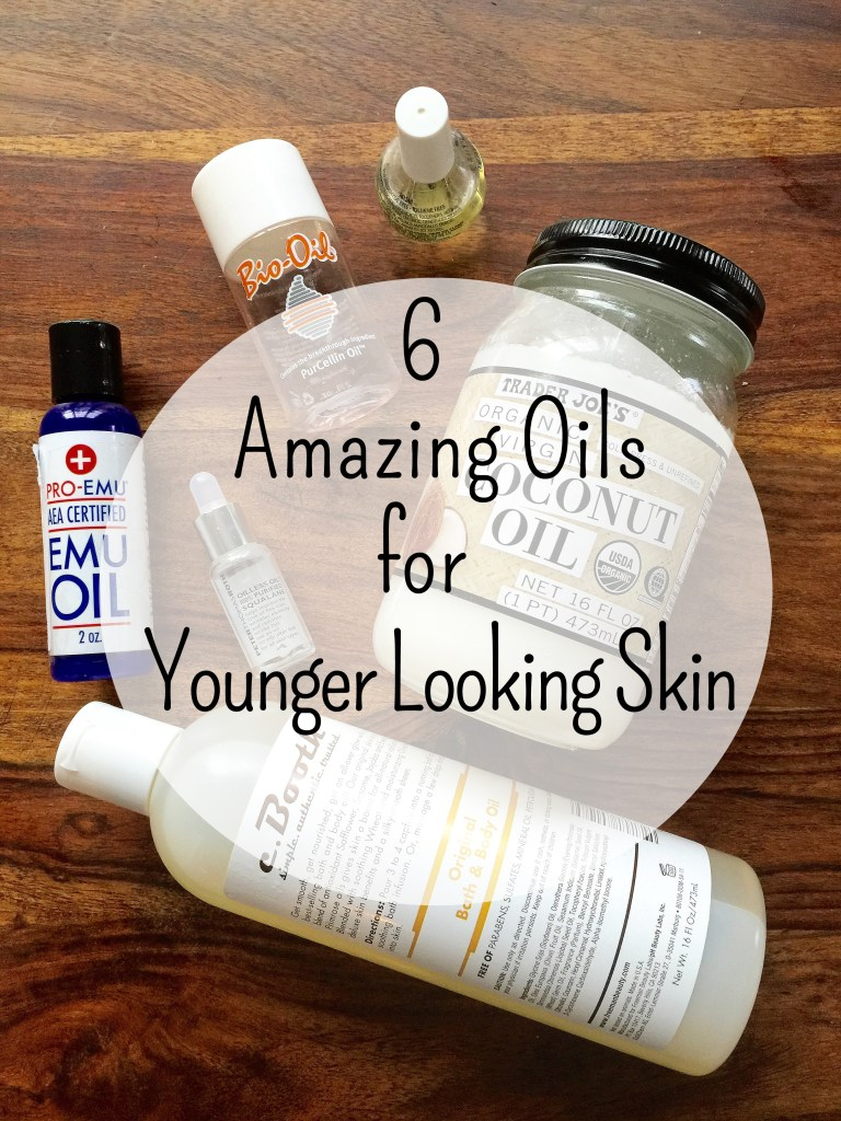 6 amazing oils for younger skin by Count Me Healthy