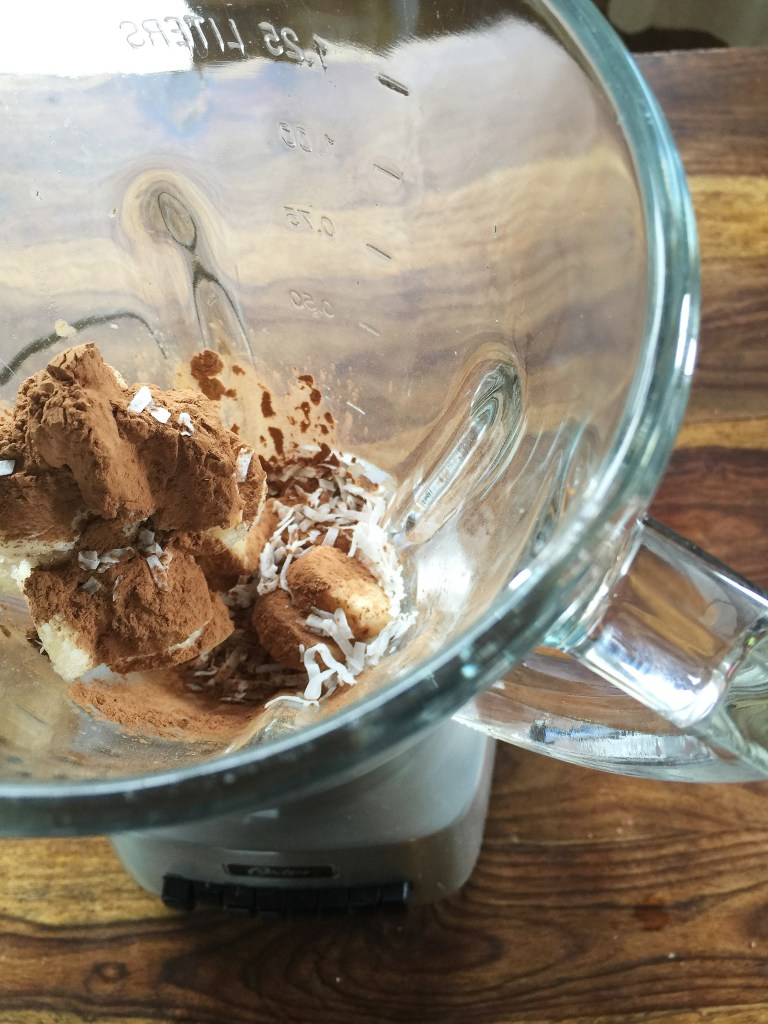 Skinny Mounds Bar Ice Cream by Count Me Healthy