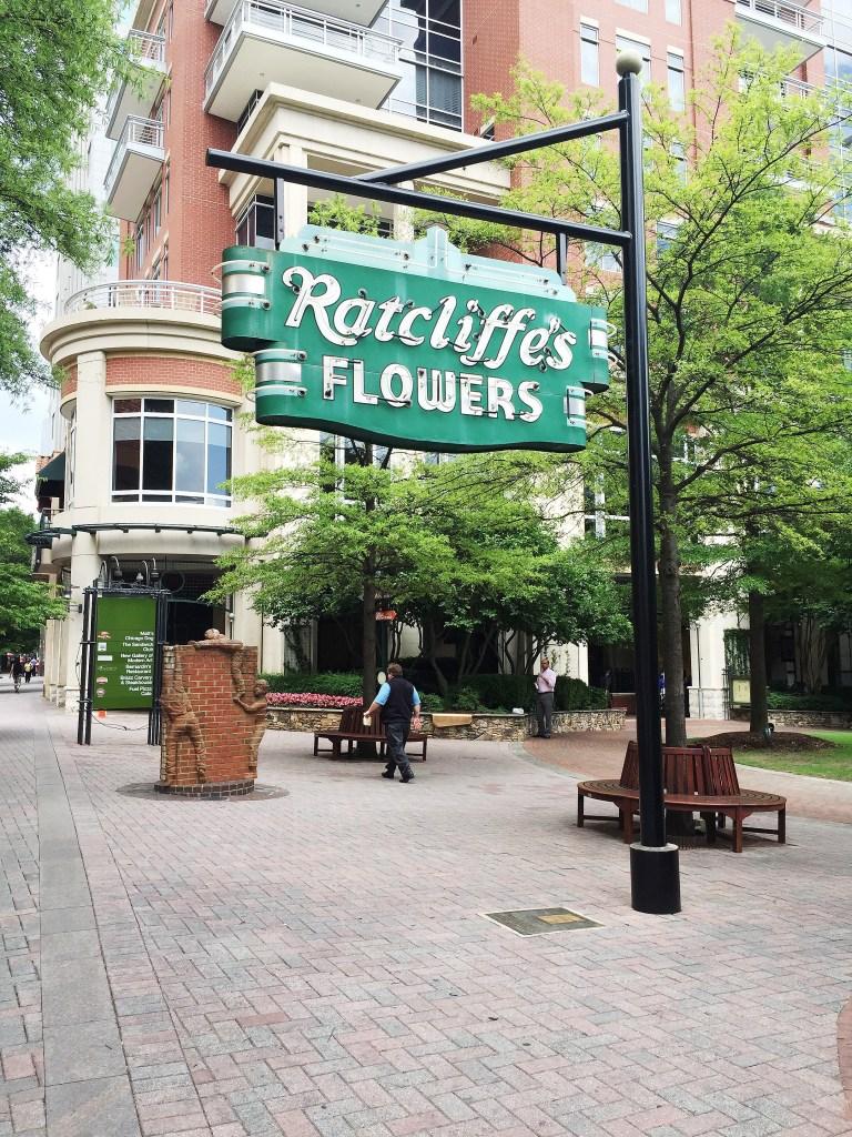 Charlotte landmark Radcliffe's Flowers
