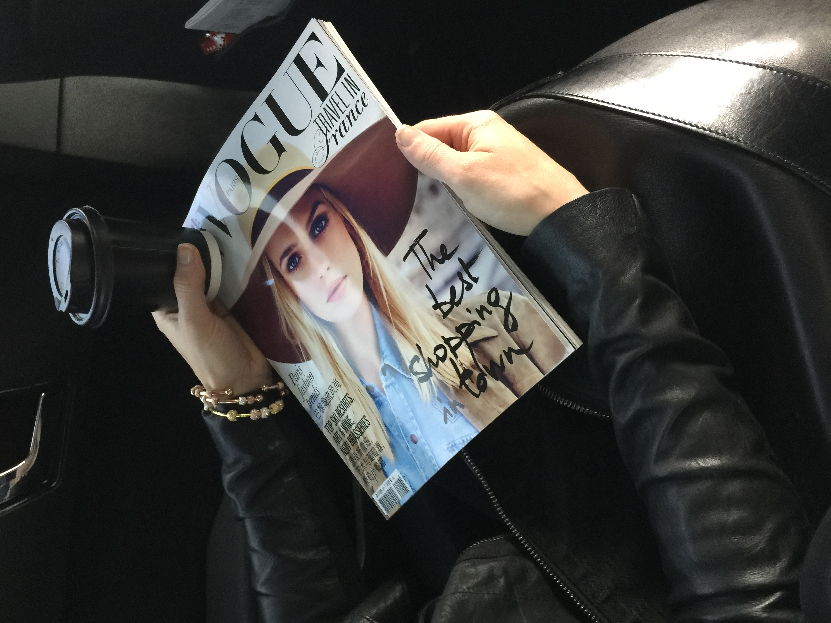 Chelsea Charles Count Me Healthy Journal Bracelets and French Vogue