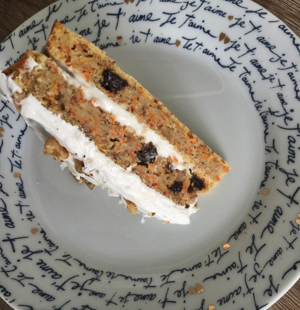 skinny love carrot cake