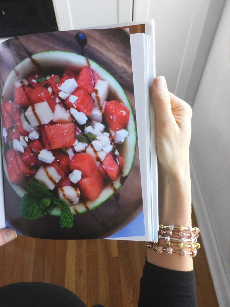 Baby bump, My Healthy Dish Cookbook and Count Me Healthy Bracelets