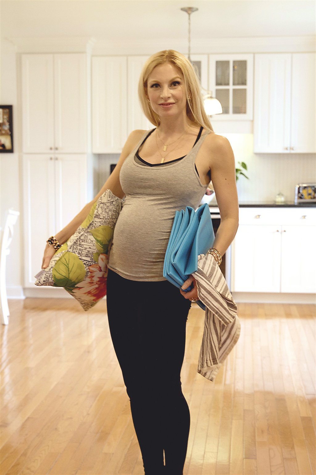 Pregnancy Workout Tips Chelsea Charles via Count Me Healthy