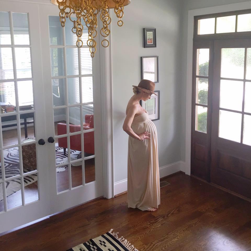 Chelsea Charles 27 Weeks Pregnant