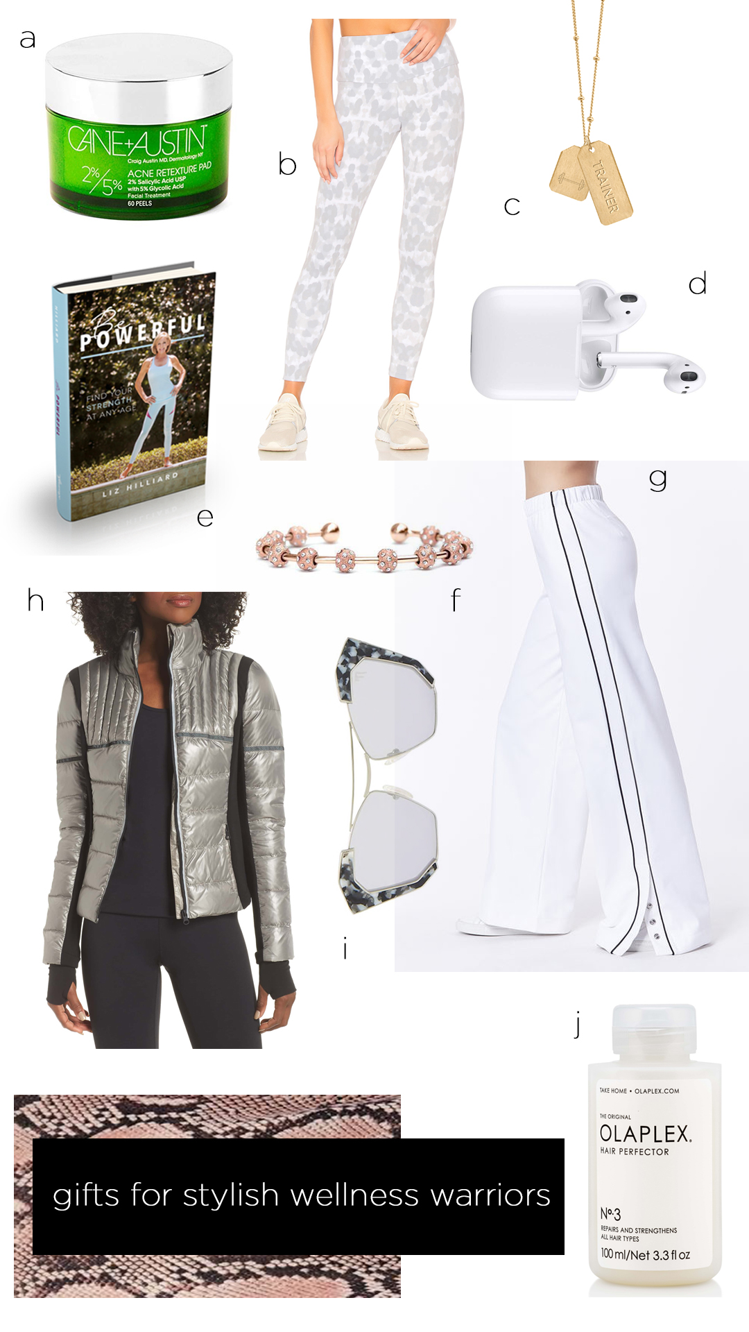 10 Perfect Gifts for the Stylish Wellness Warrior