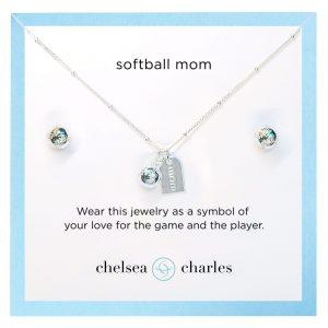 CC Sport Softball Jewelry. Pretty Sports Jewelry