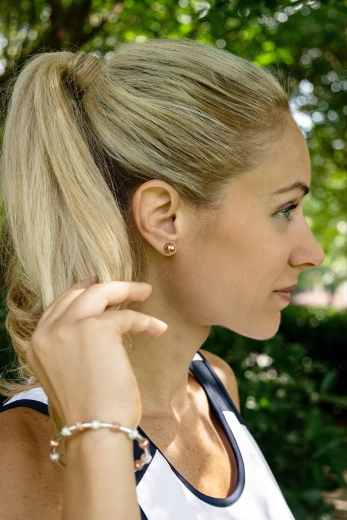 CC Sport Tennis Jewelry. Pretty Sports jewelry by Chelsea Charles