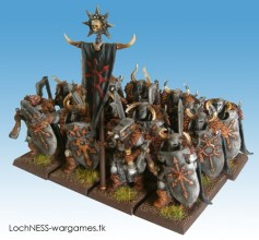 Chaos Warriors with handweapon and shield