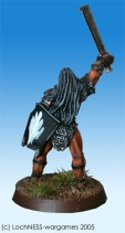 The Uruk Hai captain shows his allegiance to his master Saruman