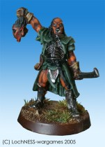 After Lurtz is shot by Boromir, Ugluk becomes the leader of the Uruk Hai scouts