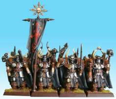 Chaos Warriors with two handweapons
