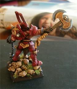 Nothing says Khorne like a big battle axe