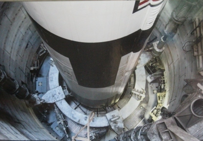 Le fond du silo de lancement