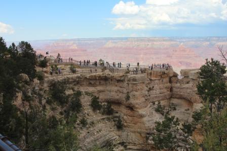 Les aménagements dans Grand Canyon National Parc