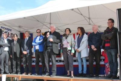 Festival de Nogent/Oise : Inauguration par le maire de la ville, M. Dardenne