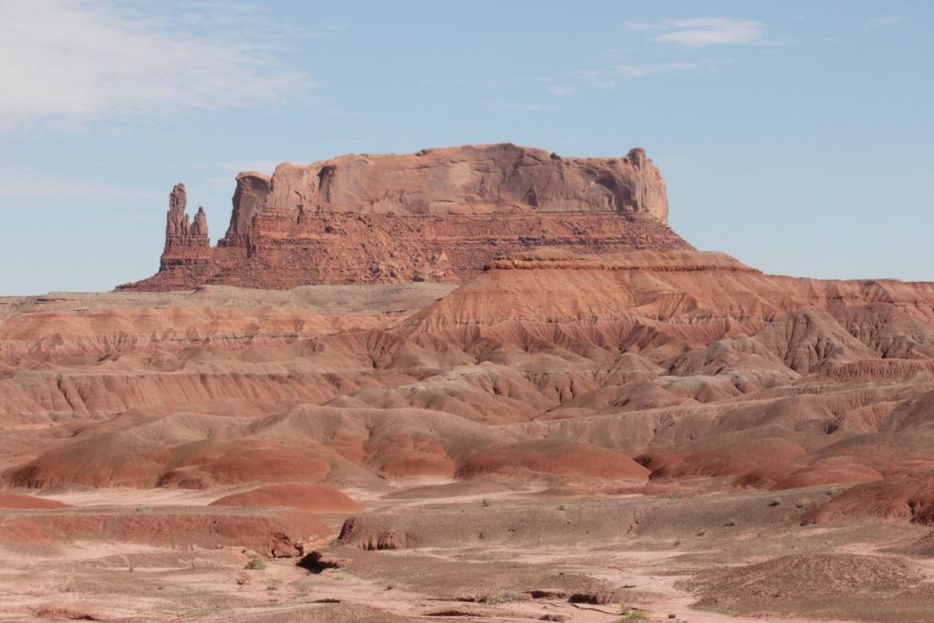 Un océan de roches roses et ocres, magnifique !