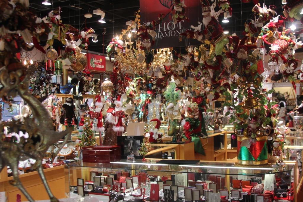 La boutique de Noël est ouverte toute l'année à Sedona