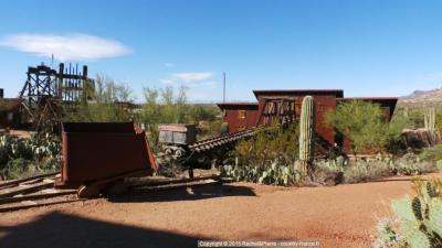 Installations de la Mine Goldfield